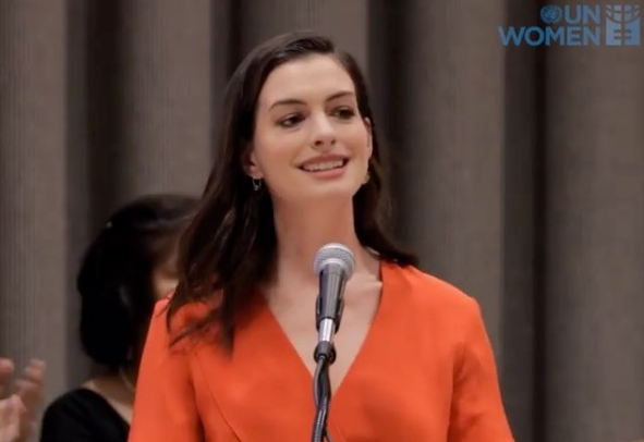 Anne Hathaway Speaks Out For Paid Parental Leave