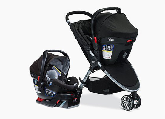 Britax B-Safe Travel System and B-Safe Infant Car Seat Recall