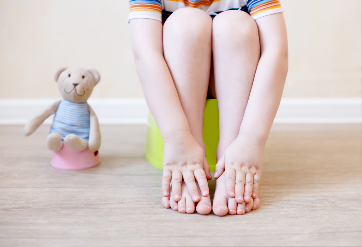 Potty Training A Resistant Child