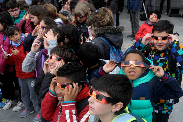 How To Watch The Solar Eclipse With Your Kids – Safely!
