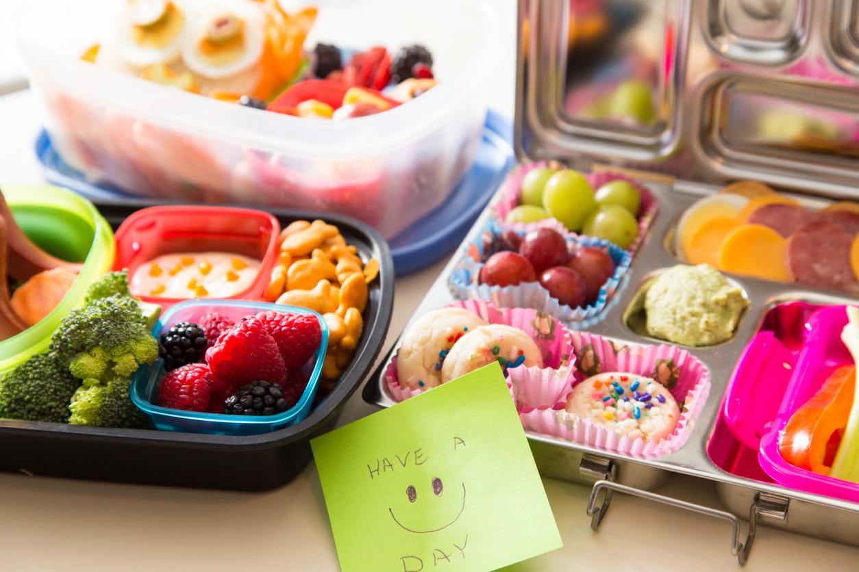 Easy lunch box ideas for kids - School