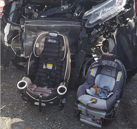 Viral Photo Shows Importance Of Car Seats