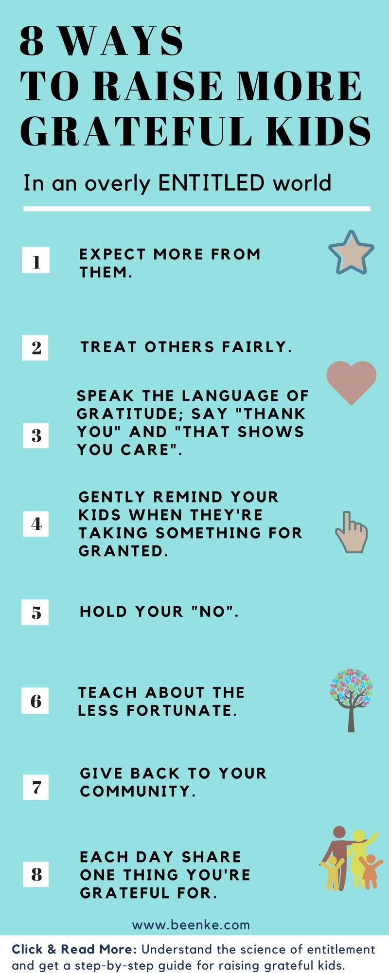 How To Raise Grateful Children In An Entitled World Beenke