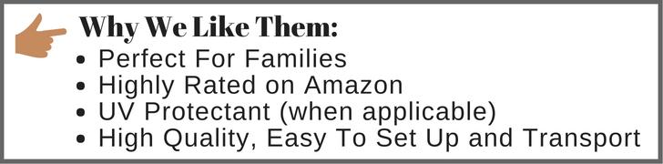 family beach essentials