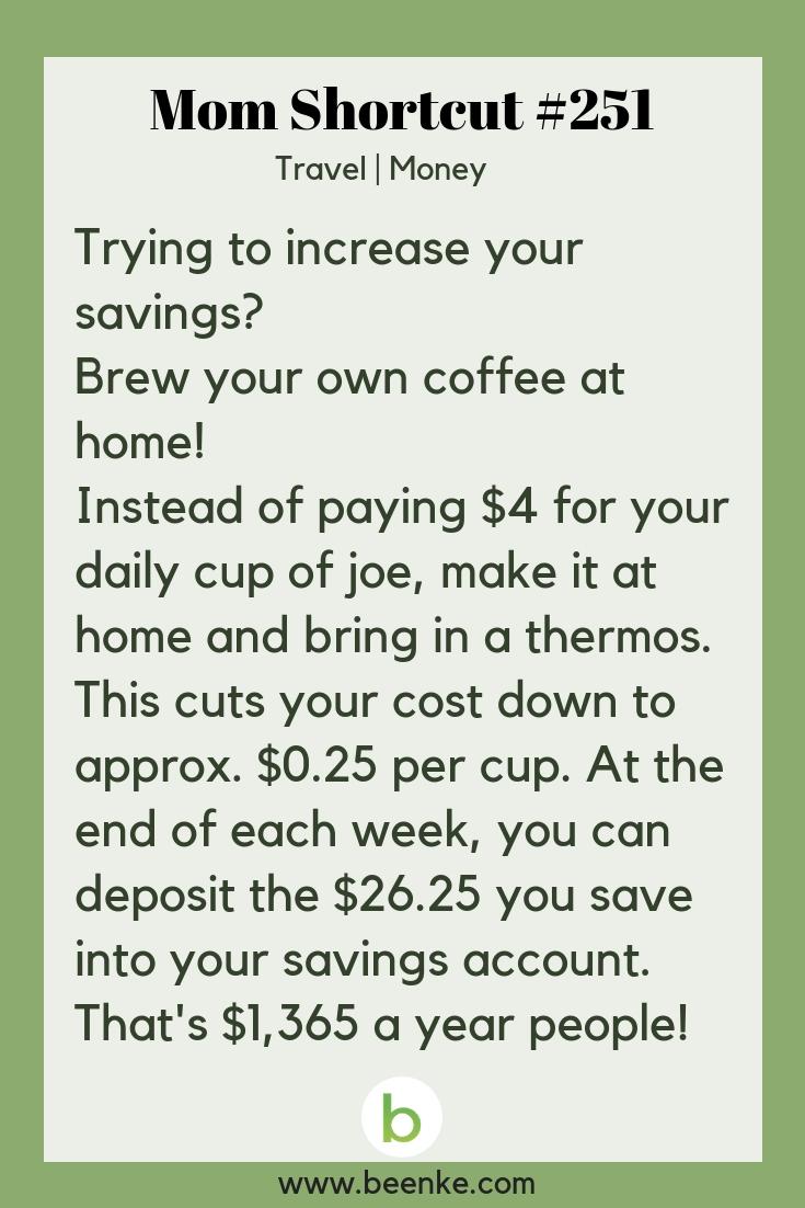money saving hacks