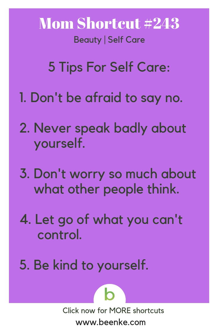 Simple Self Care Tips To Help You De Stress And Relax Beenke