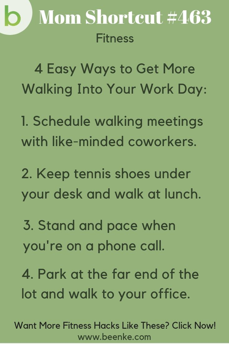 fitness hacks to walk more at work